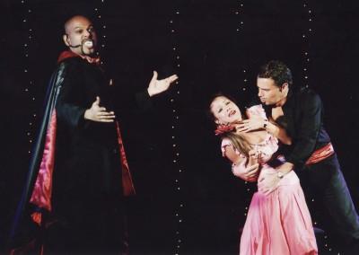 Andrew Chacko and Paula in vampire story